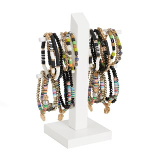 Coco + Carmen Bundled Heishi Bead Bracelet Assortment Pack with Display Pack and Display