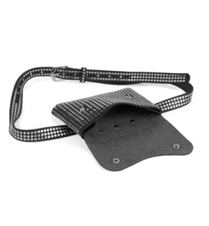 Coco + Carmen 3-In-1 Hip Bag Silver