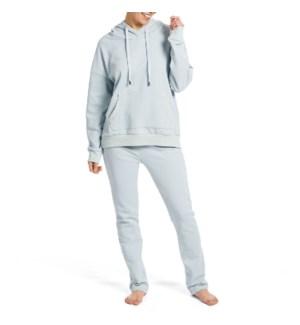 Coco + Carmen Boyfriend Open Bottom Pants - Dusty Blue - S/M