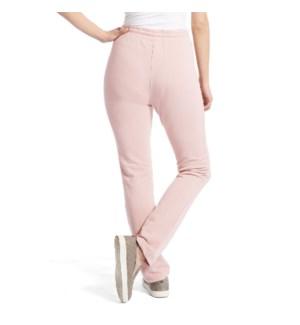 Coco + Carmen Boyfriend Open Bottom Pants - Dusty Pink - L/XL