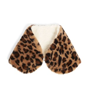 Coco + Carmen Animal Snap Snood - Brown - One Size