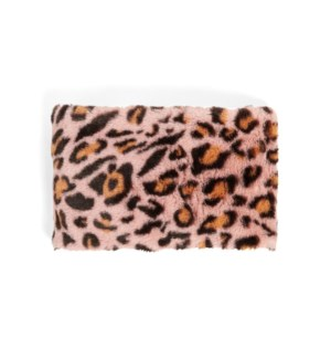 Coco + Carmen Animal Snap Snood - Pink - One Size