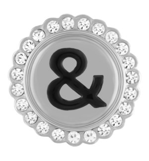 Ginger Snaps Ampersand with Bling