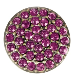 Ginger Snaps Amethyst Brass Ritzy