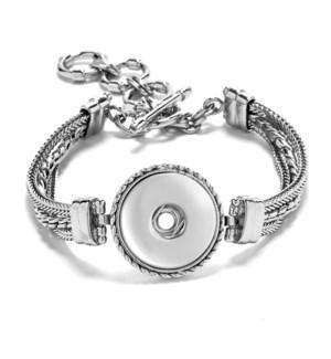 Ginger Snaps 1-Snap Regular Multi Chain Bracelet