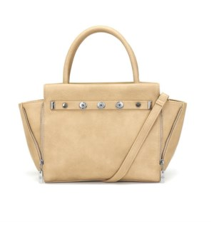 Ginger Snaps Audrey Zip Satchel Tan