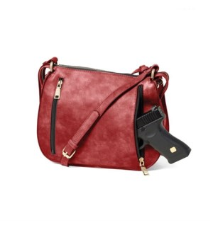 Saint Sabrina Brazen Saddle Bag - Red