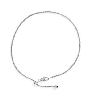 Whispers Adjustable Charm Bracelet - Silver