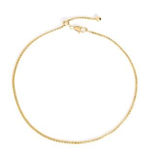 Whispers Adjustable Charm Bracelet - Gold