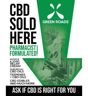 CBD Sold Here Poster