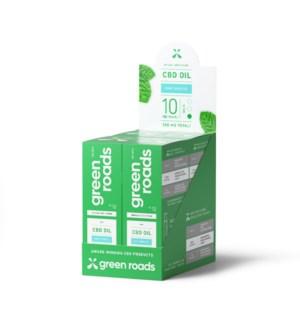 Broad Spectrum 10MG CBD Mint Breeze Oil 4 PK