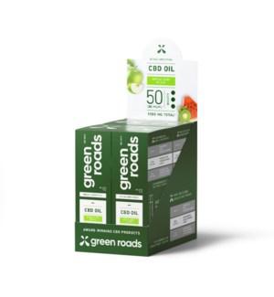 Broad Spectrum 50MG CBD Apple Kiwi Bliss Oil 4 PK