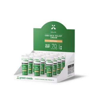 70mg Travel Size Skin Relief Cream (12 pack)