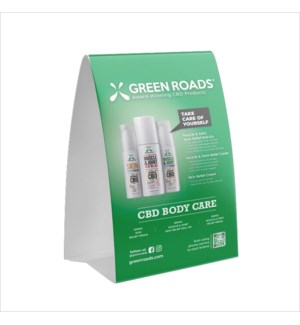 Body Care Table Tent