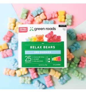 Extra Strength Relax Bears- 750mg (4 pack)