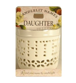 Candlelit Names - Daughter