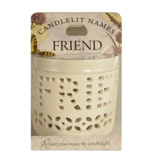 Candlelit Names - Friend
