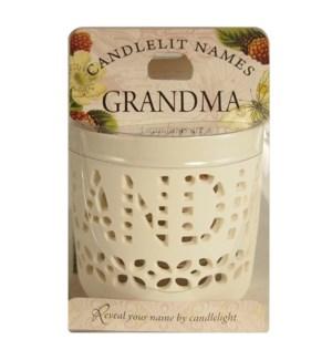 Candlelit Names - Grandma