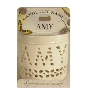 Candlelit Names - Amy