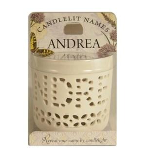 Candlelit Names - Andrea
