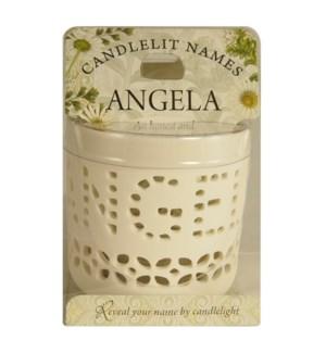 Candlelit Names - Angela