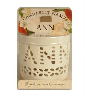 Candlelit Names - Ann