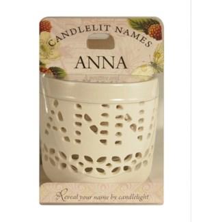 Candlelit Names - Anna