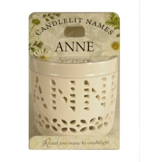 Candlelit Names - Anne