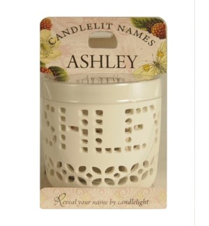 Candlelit Names - Ashley