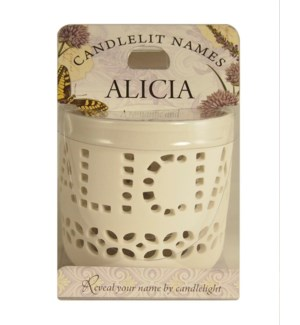 Candlelit Names - Alicia