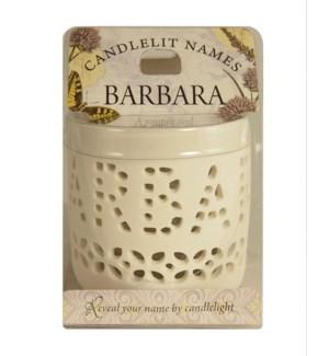 Candlelit Names - Barbara