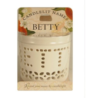 Candlelit Names - Betty