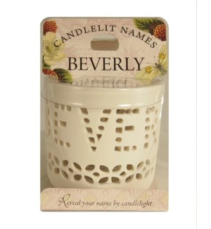 Candlelit Names - Beverly