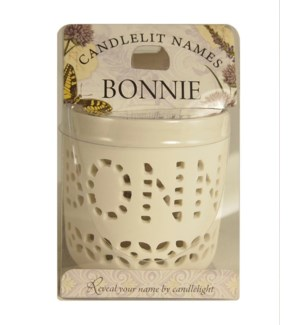 Candlelit Names - Bonnie