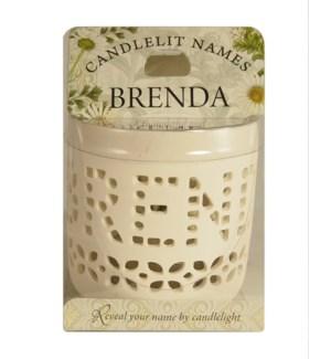 Candlelit Names - Brenda