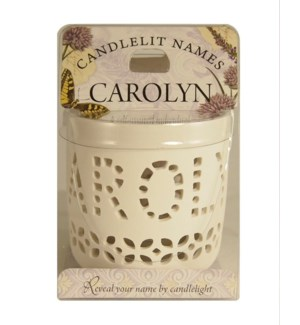Candlelit Names - Carolyn