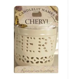 Candlelit Names - Cheryl
