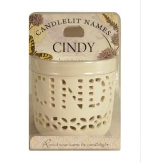 Candlelit Names - Cindy