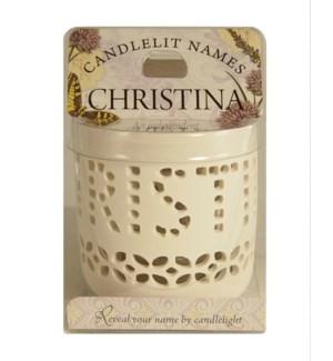 Candlelit Names - Christina