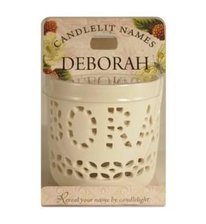 Candlelit Names - Deborah