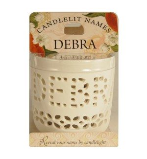 Candlelit Names - Debra