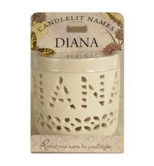 Candlelit Names - Diana