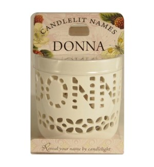 Candlelit Names - Donna