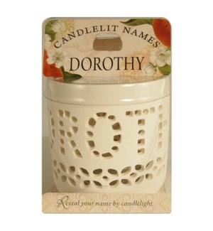 Candlelit Names - Dorothy