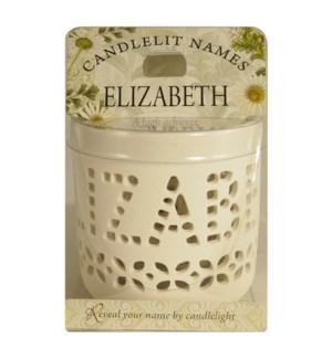 Candlelit Names - Elizabeth