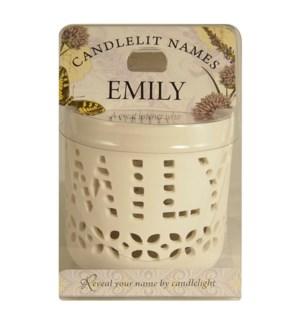 Candlelit Names - Emily