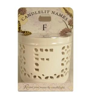 Candlelit Names - F