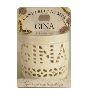 Candlelit Names - Gina