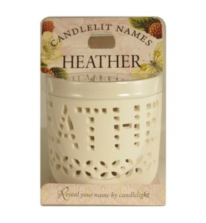 Candlelit Names - Heather