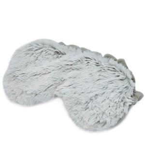 Gray Marshmallow Warmies Eye Mask